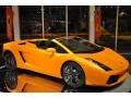 Arancio Borealis (Orange) 2008 Lamborghini Gallardo Spyder