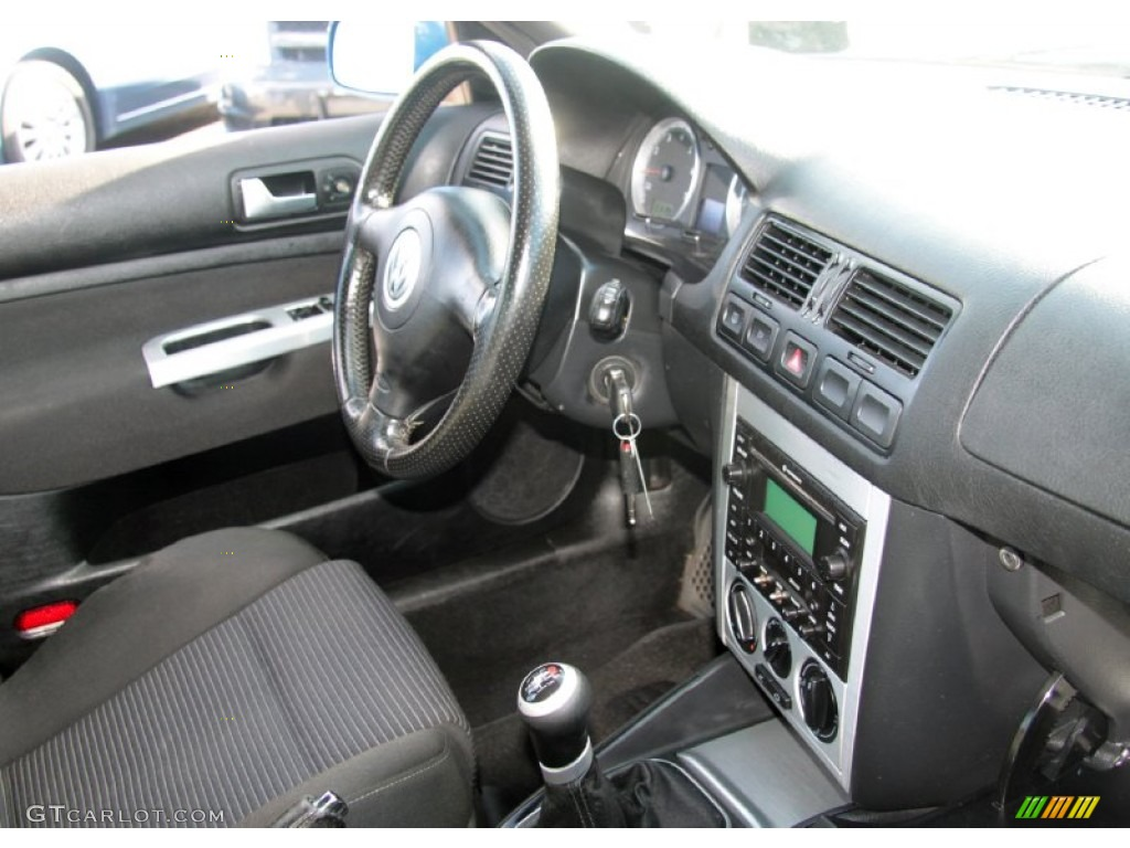 Black Interior 2004 Volkswagen Jetta Gli 1 8t Sedan Photo