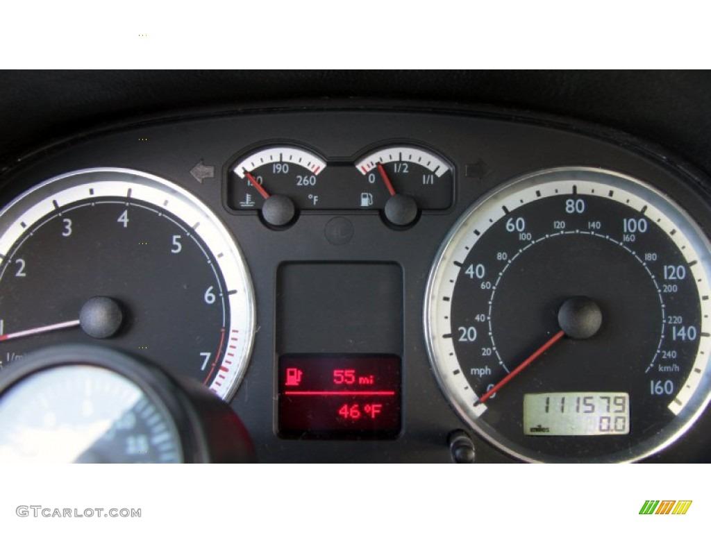 2004 volkswagen jetta gli 1 8t sedan gauges photo 60370932