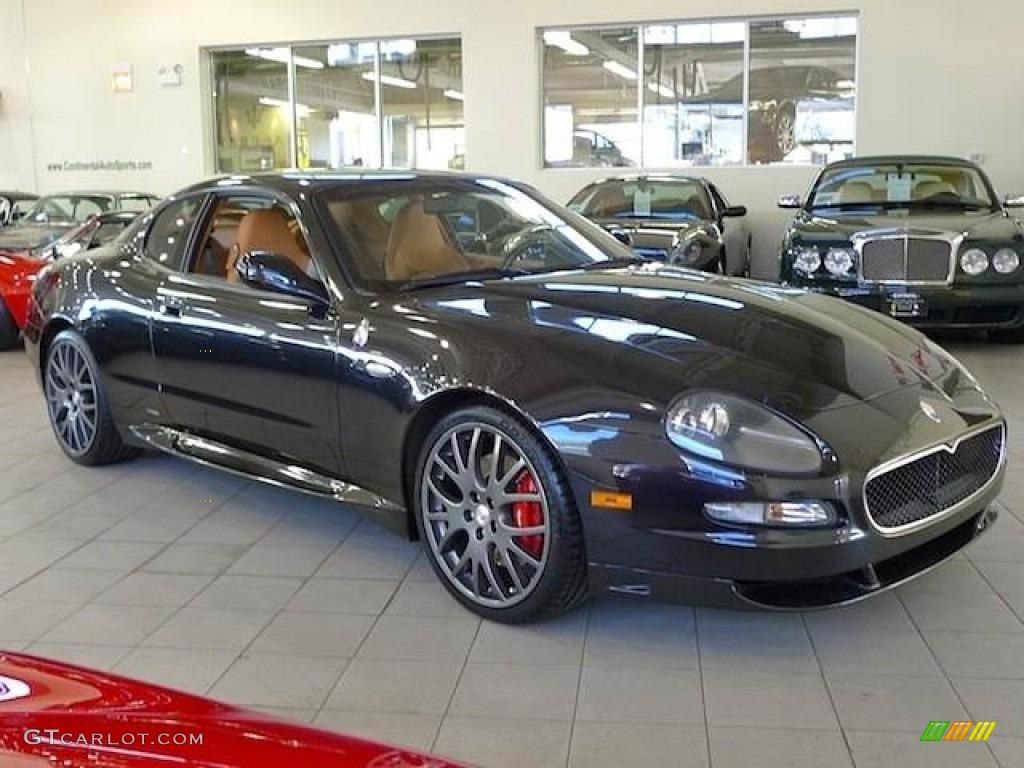 Nero carbonio metallic black 2006 maserati gransport coupe exterior photo 60375372
