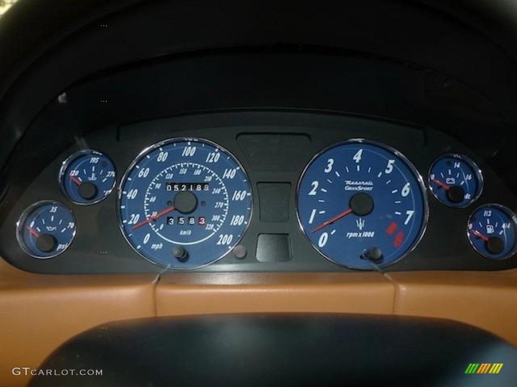 2006 Maserati Gransport Coupe Gauges Photo 60375531