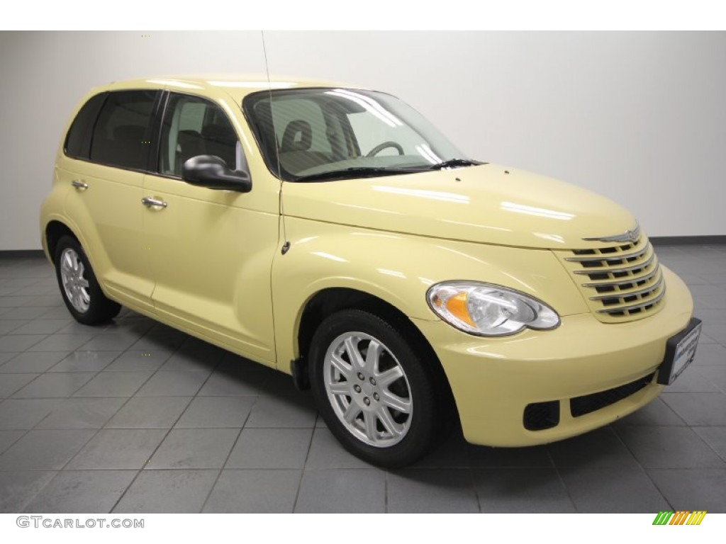 2007 PT Cruiser Touring - Pastel Yellow / Pastel Pebble Beige photo #1