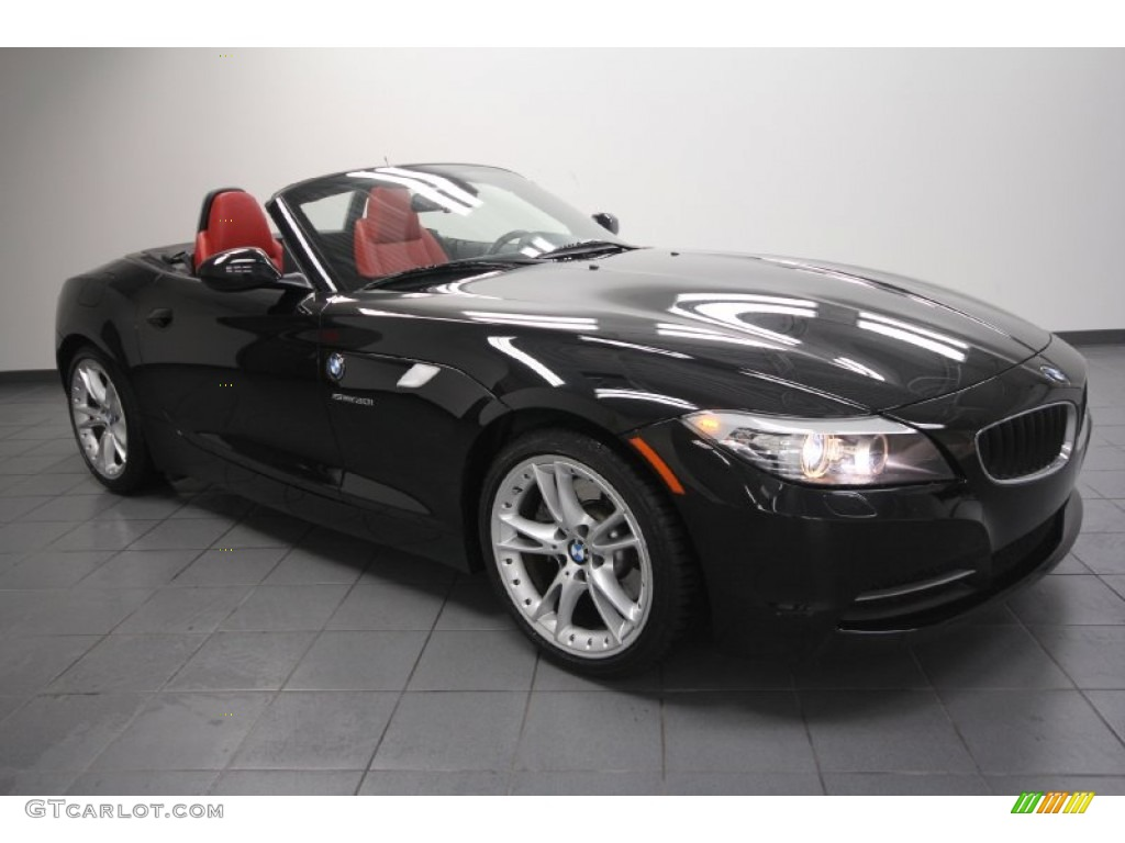 2009 Jet Black Bmw Z4 Sdrive30i Roadster 60379093 Gtcarlot Com Car Color Galleries
