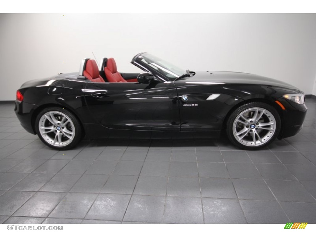 2009 Jet Black Bmw Z4 Sdrive30i Roadster 60379093 Photo