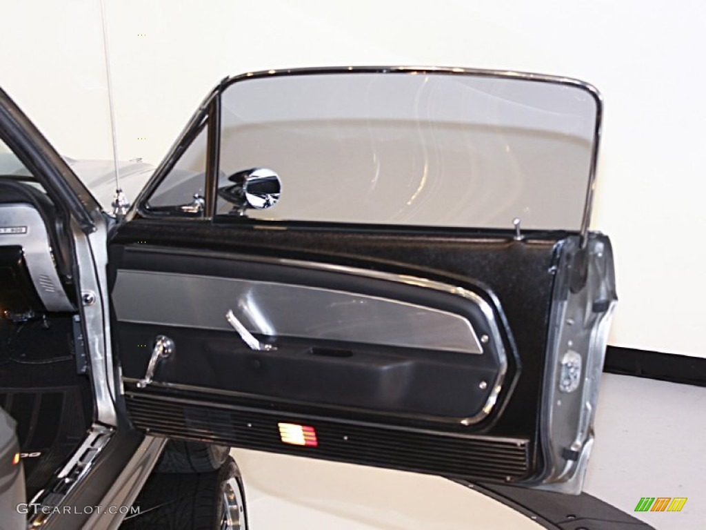 1967 Ford Mustang Shelby G T 500 Eleanor Fastback Black Door Panel