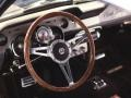 1967 Ford Mustang Black Interior Steering Wheel Photo