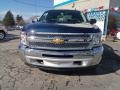 2012 Imperial Blue Metallic Chevrolet Silverado 1500 LT Extended Cab 4x4  photo #3