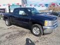2012 Imperial Blue Metallic Chevrolet Silverado 1500 LT Extended Cab 4x4  photo #4