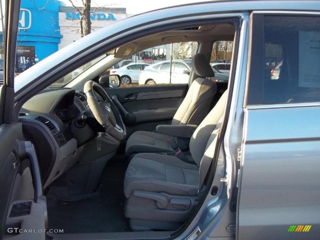 2009 CR-V EX 4WD - Glacier Blue Metallic / Gray photo #14
