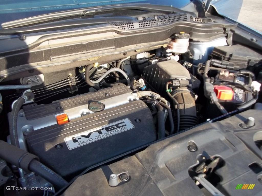 2009 CR-V EX 4WD - Glacier Blue Metallic / Gray photo #28