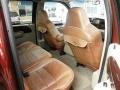 2007 Ford F250 Super Duty Castano Brown Leather Interior Interior Photo