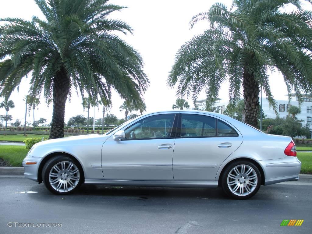 2007 iridium silver metallic mercedes benz e 350 sedan for 2007 mercedes benz e 350