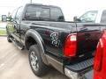 2012 Tuxedo Black Metallic Ford F250 Super Duty Lariat Crew Cab 4x4  photo #4