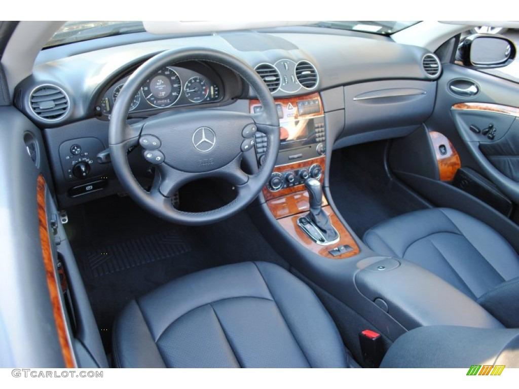 Charcoal Interior 2005 Mercedes Benz Clk 320 Cabriolet Photo 60401738