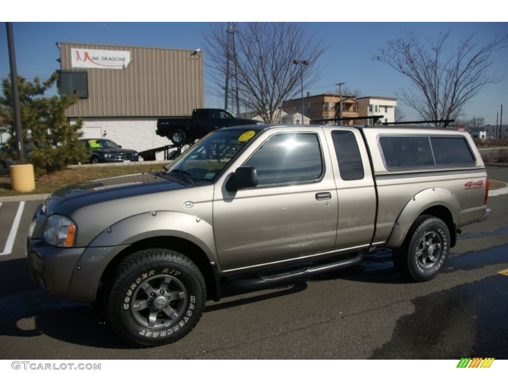 Nissan nissan frontier 2004 : 2004 Polished Pewter Metallic Nissan Frontier XE V6 King Cab 4x4 ...