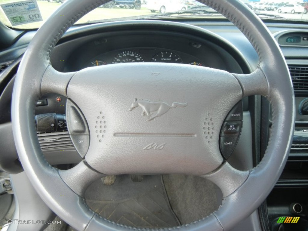 1995 Ford Mustang Gt Convertible Gray Steering Wheel Photo