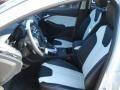 2012 White Platinum Tricoat Metallic Ford Focus Titanium 5-Door  photo #11