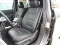 2012 Ford Explorer Charcoal Black Interior Front Seat Photo