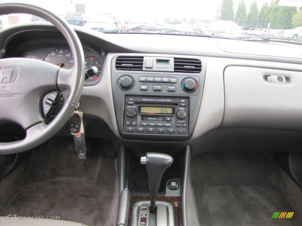 Quartz Gray Interior 2002 Honda Accord Ex Sedan Photo