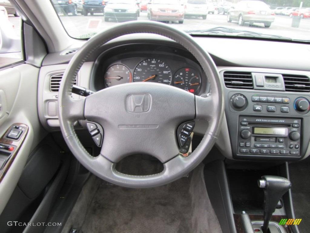 2002 Honda Accord Ex Sedan Quartz Gray Dashboard Photo