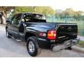 2000 Onyx Black Chevrolet Silverado 1500 LS Extended Cab 4x4  photo #8