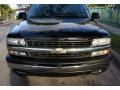2000 Onyx Black Chevrolet Silverado 1500 LS Extended Cab 4x4  photo #17