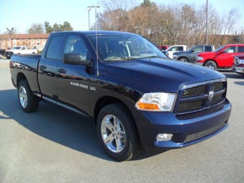 2012 dodge ram 1500 express quad cab 4x4 data info and specs. Black Bedroom Furniture Sets. Home Design Ideas