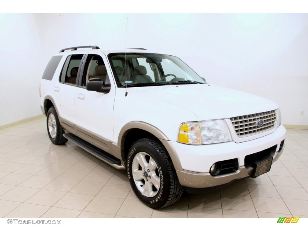 2003 oxford white ford explorer eddie bauer 4x4 60379157 gtcarlot