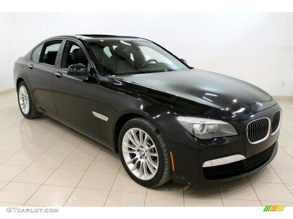2010 black sapphire metallic bmw 7 series 750i xdrive. Black Bedroom Furniture Sets. Home Design Ideas