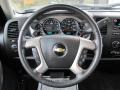 Ebony Steering Wheel Photo for 2011 Chevrolet Silverado 1500 #60443612
