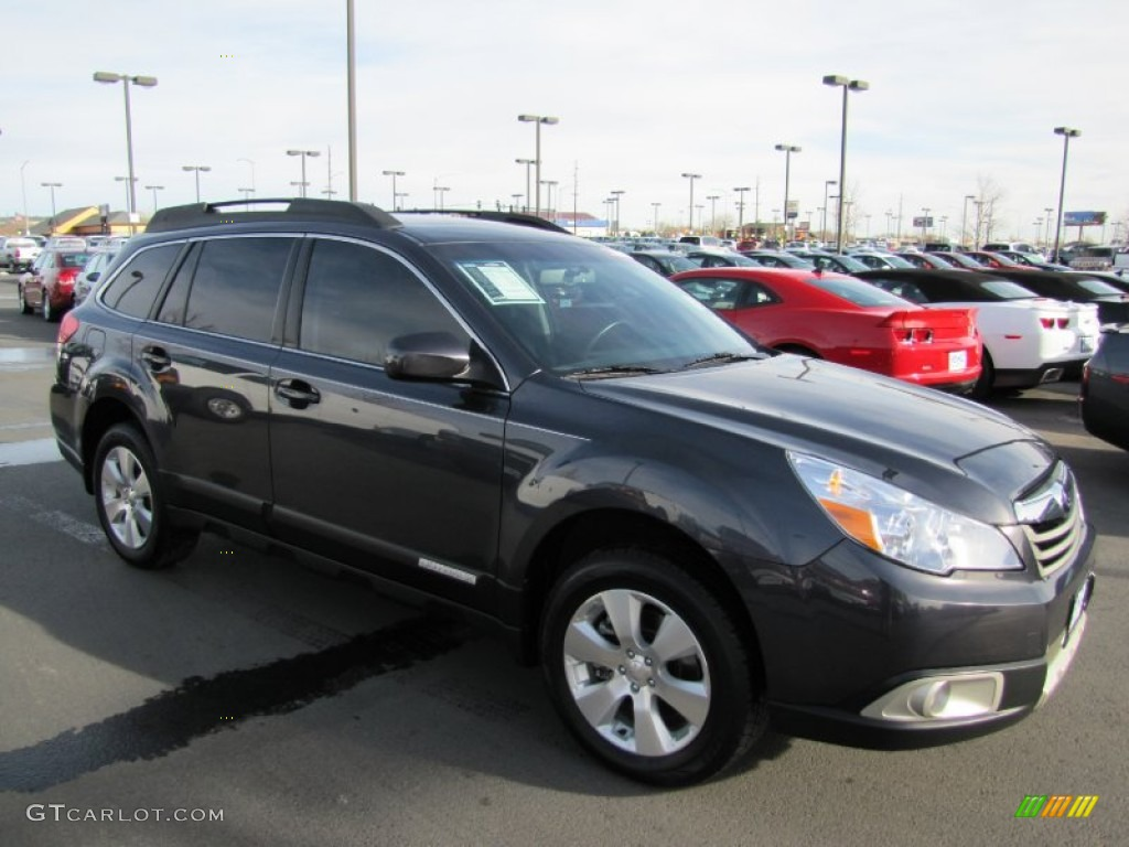 2010 graphite gray metallic subaru outback 3 6r limited. Black Bedroom Furniture Sets. Home Design Ideas