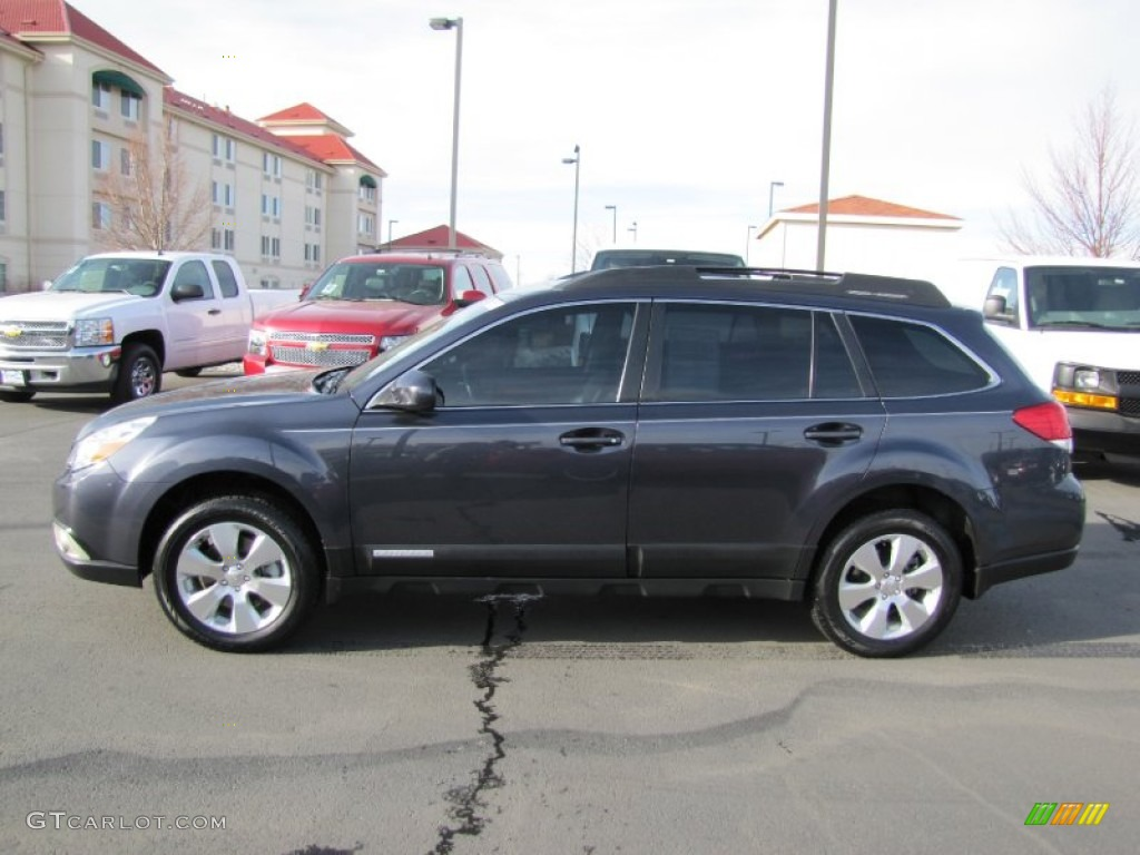 graphite gray metallic 2010 subaru outback 3 6r limited. Black Bedroom Furniture Sets. Home Design Ideas