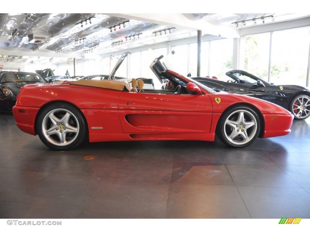 Red 1996 Ferrari F355 Spider Exterior Photo 60448548