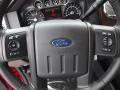 2012 Vermillion Red Ford F250 Super Duty Lariat Crew Cab 4x4  photo #19