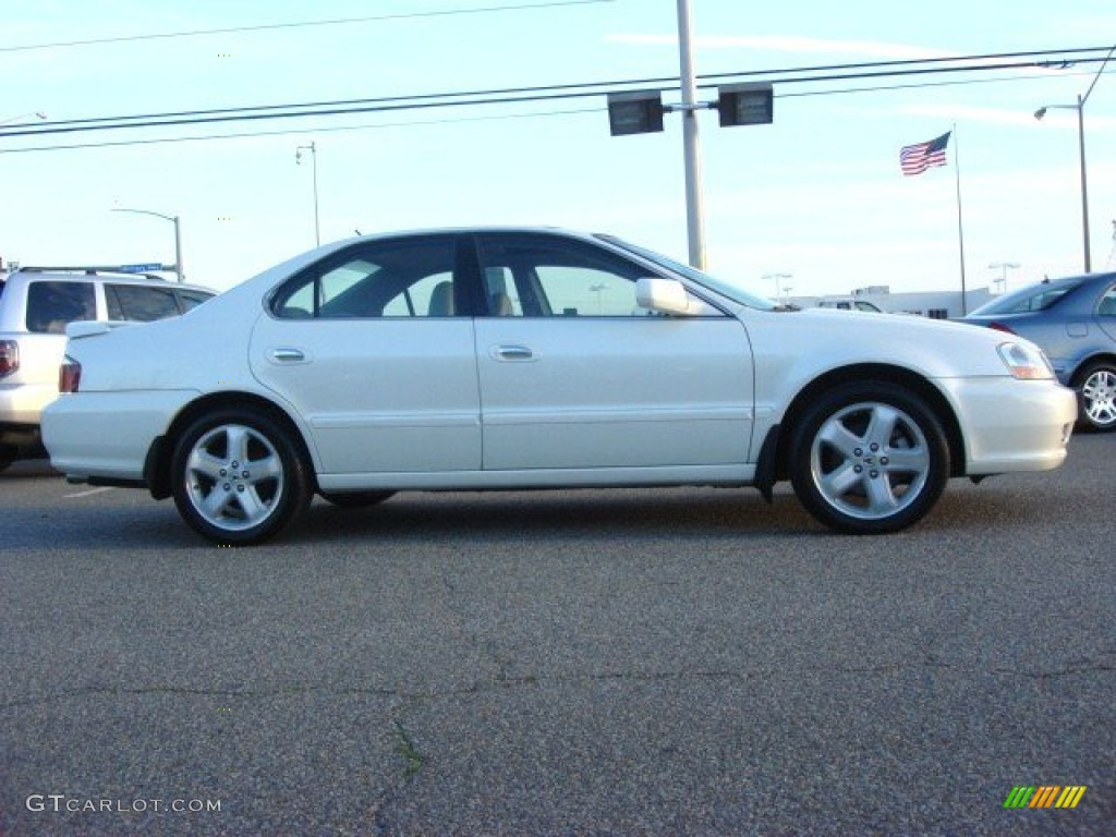 white diamond pearl 2003 acura tl 3 2 type s exterior. Black Bedroom Furniture Sets. Home Design Ideas