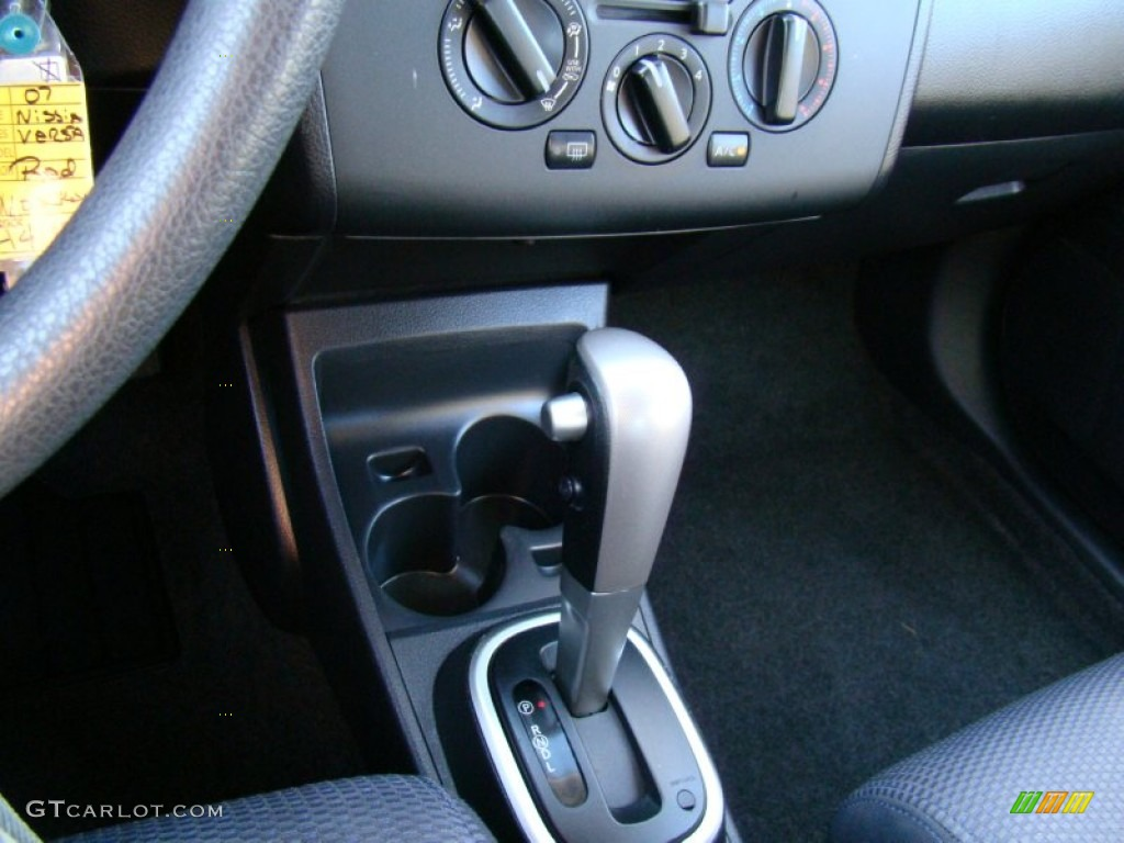 2007 nissan versa sl cvt automatic transmission photo. Black Bedroom Furniture Sets. Home Design Ideas
