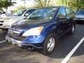 2008 Royal Blue Pearl Honda CR-V LX  photo #4