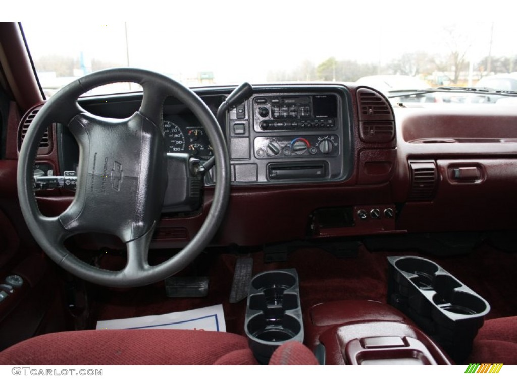 1995 Chevrolet Suburban K1500 Ls 4x4 Bordeaux Red Dashboard Photo 60478403