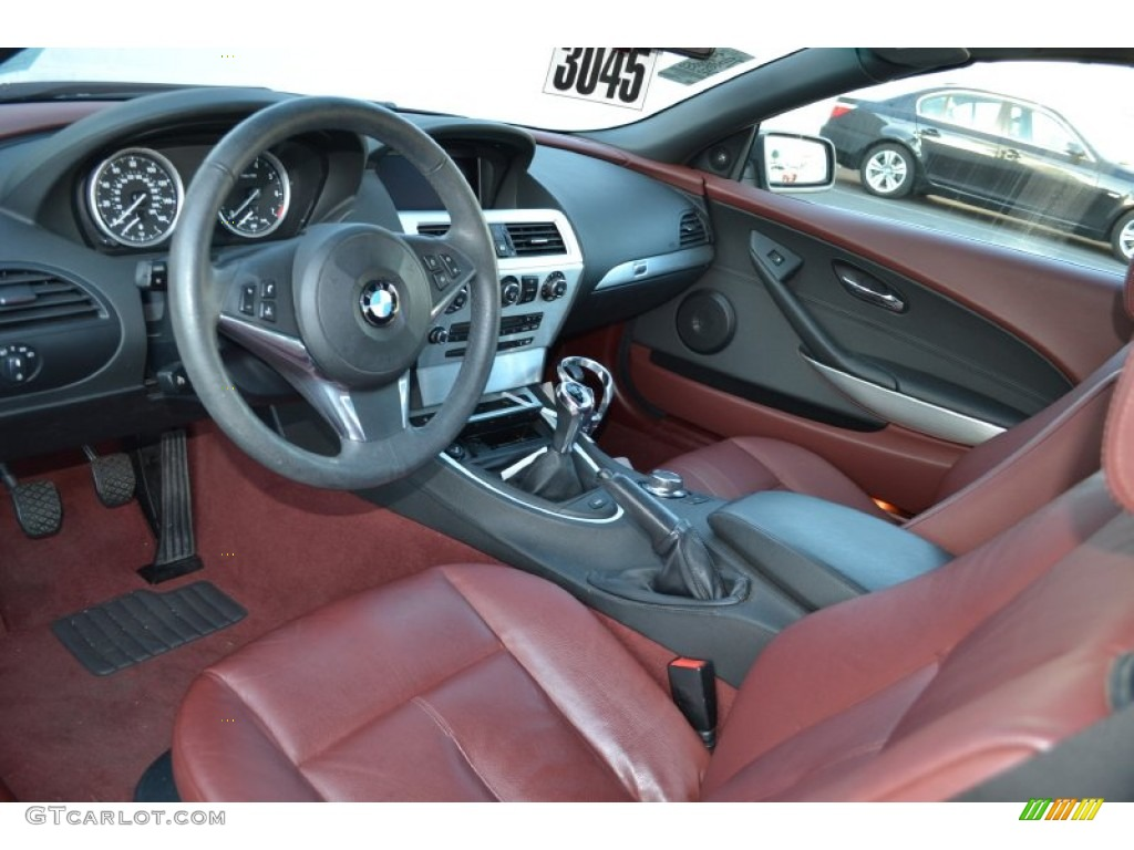 Chateau Interior 2008 BMW 6 Series 650i Convertible Photo 60478414