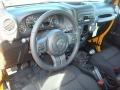 2012 Dozer Yellow Jeep Wrangler Sport 4x4  photo #4