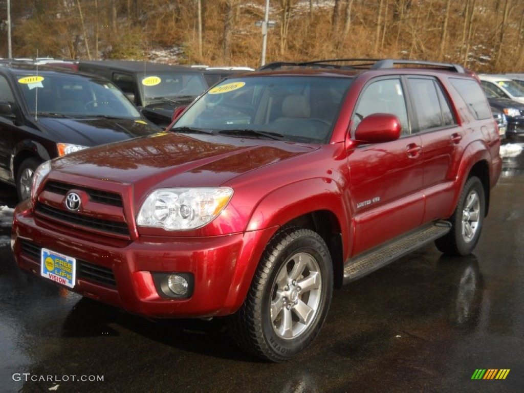 2006 Salsa Red Pearl Toyota 4runner Limited 4x4 60445531 Gtcarlot Com Car Color Galleries
