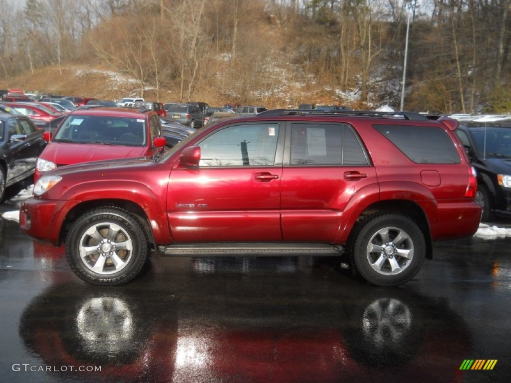 2006 Salsa Red Pearl Toyota 4runner Limited 4x4 60445531 Photo 13 Gtcarlot Com Car Color Galleries