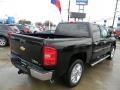 2012 Black Chevrolet Silverado 1500 LT Crew Cab  photo #5