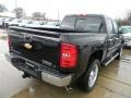 2012 Black Chevrolet Silverado 1500 LT Crew Cab  photo #5