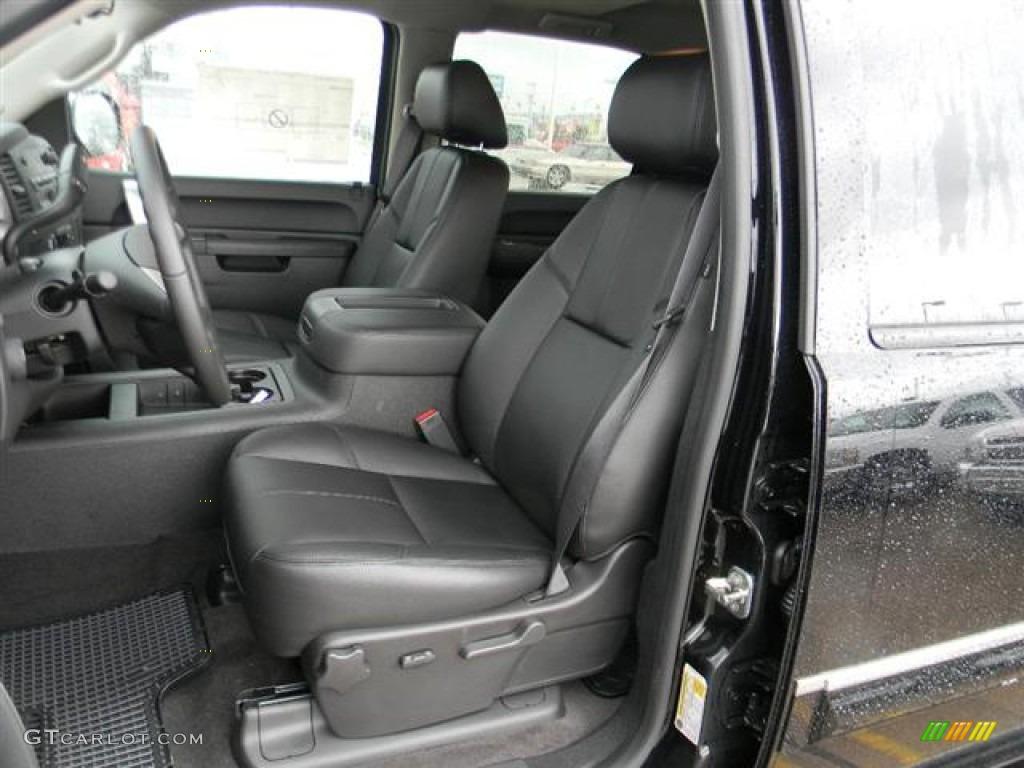 2012 Silverado 1500 LT Crew Cab - Black / Ebony photo #11