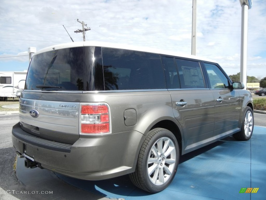 Mineral Gray Metallic 2012 Ford Flex Limited Exterior