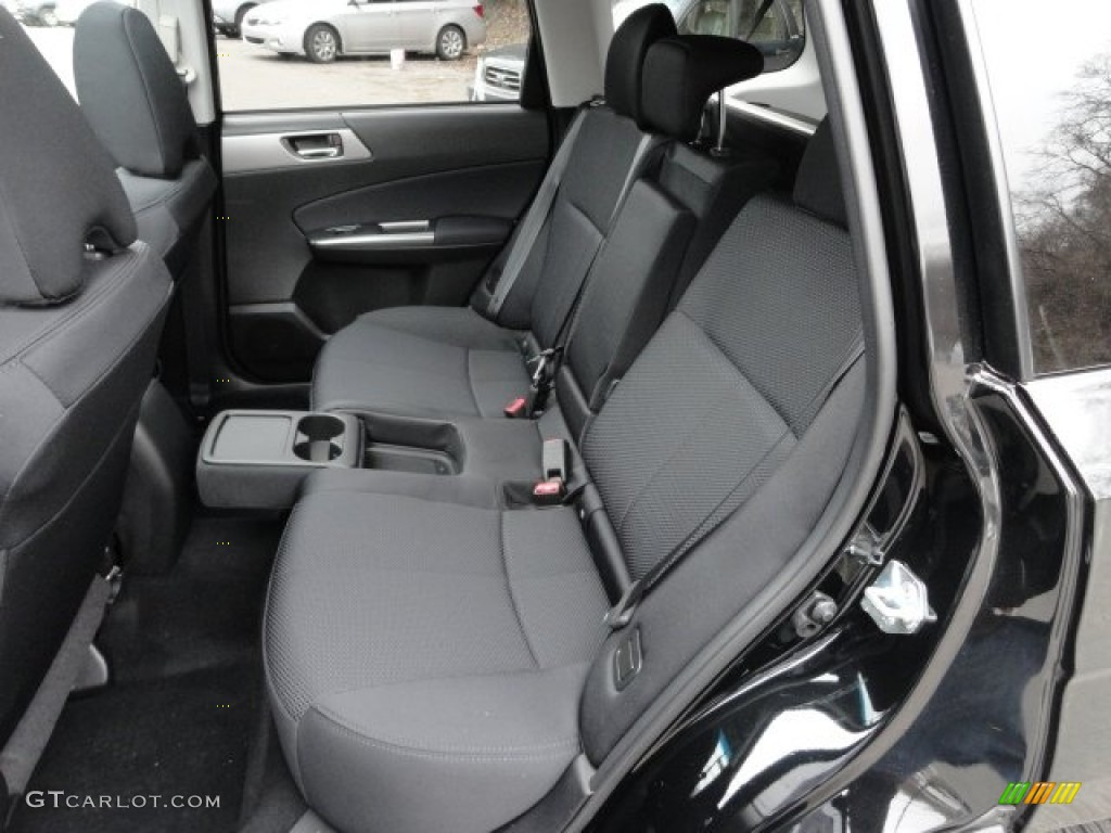 Black Interior 2012 Subaru Forester 2 5 X Premium Photo 60503426