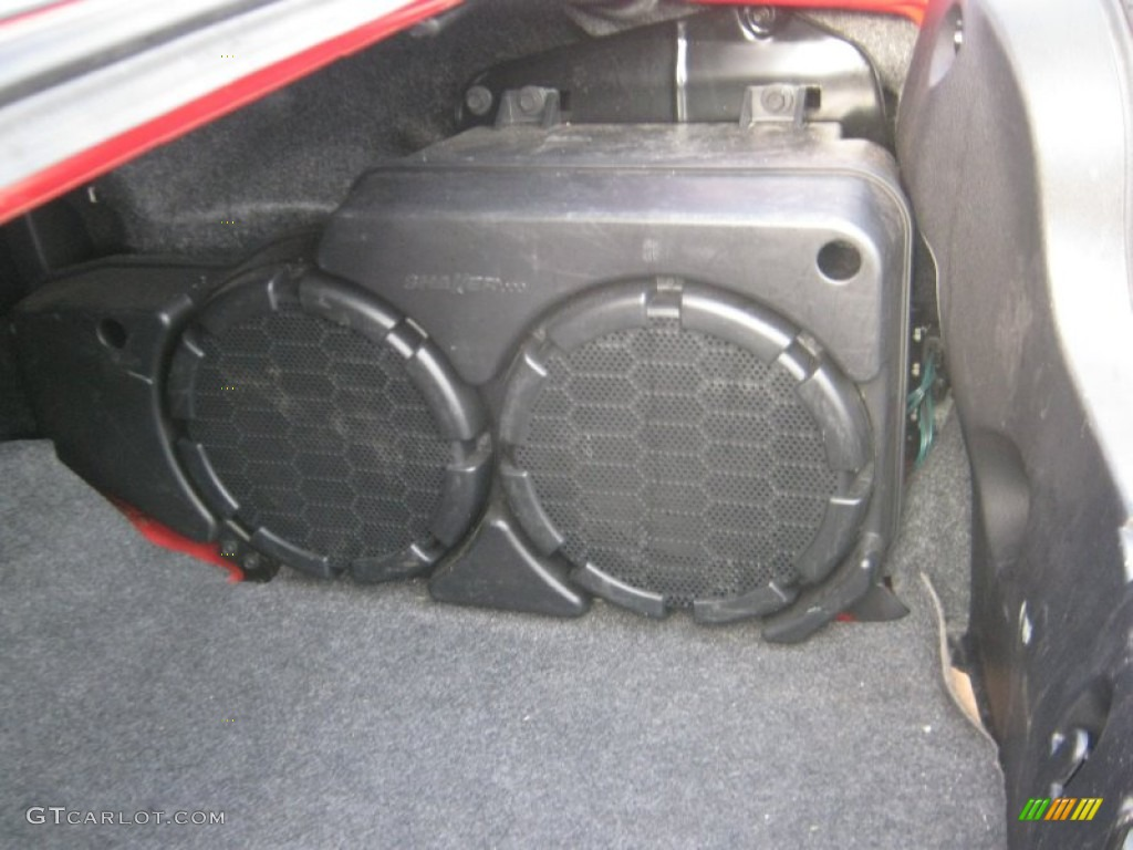 2007 Ford Mustang Shelby Gt500 Coupe Shaker 1000 Trunk Subwoofer Photo 27447