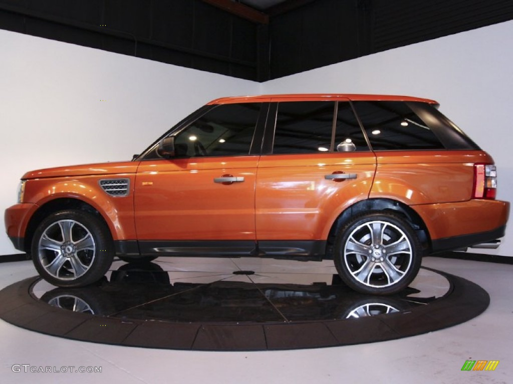 Vesuvius Orange Metallic 2006 Land Rover Range Rover Sport