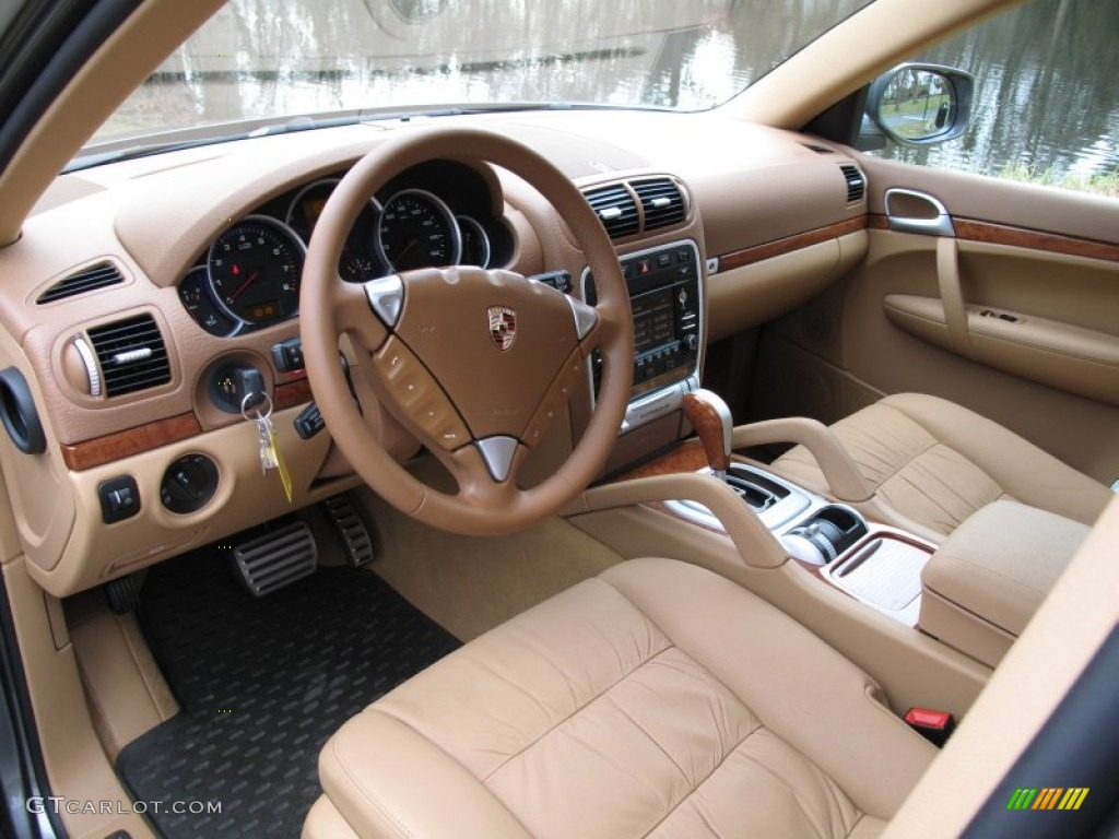 Havanna Sand Beige Interior 2009 Porsche Cayenne S Photo